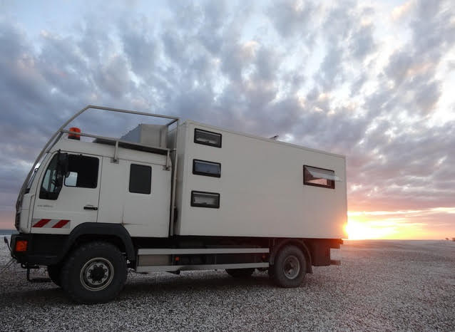Notre camion est à vendre!